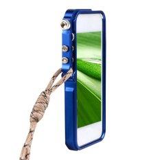Sunweb Baru Aluminium Metal Hard Bingkai Cleave Case Cover untuk Apple IPhone 5 5 S-Intl