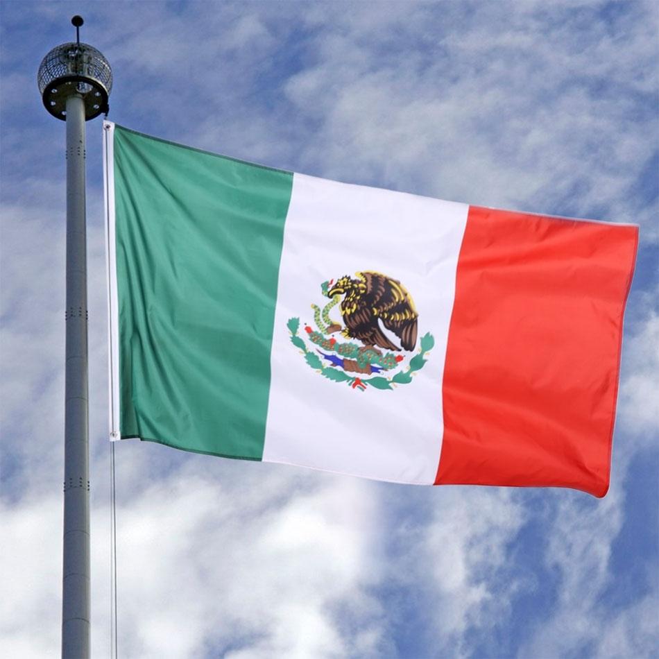 Review Toko Sunwonder Baru 3X5 Ft Nasional Bendera To Mexico Indoor Outdoor Polyester Banner Grommet Internasional Online