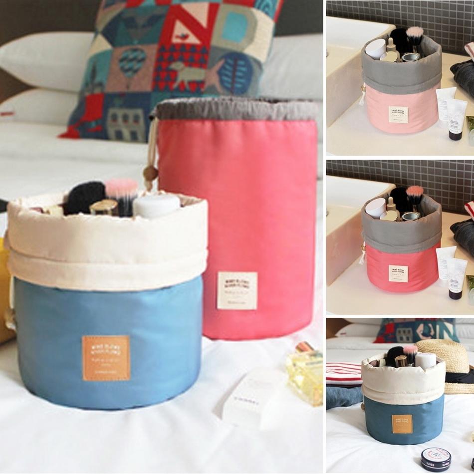 Toko Sunwonder Unisex Outdoor Travel Tas Kosmetik Wash Bag Handbag Koper Silinder Organizer Merah Intl Terlengkap Di Indonesia