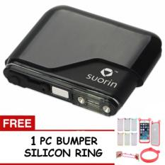 Jual Suorin Air Cartridge 100 Authentic Black Free 1 Pc Bumper Silicon Pelindung Handphone Branded Murah