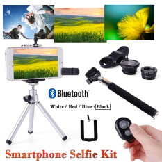 Toko Super Phone Camera Kit Lens Monopod Wireless Control Tripod For Smartphone Online Terpercaya