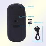 Jual Beli Super Slim Rechargeable 2 4G Mouse Nirkabel Untuk Pc Dan Laptop Dan Android Intl Di Tiongkok