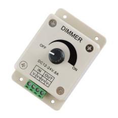 Supercart Dc12V 24V 8A Led Switch Dimmer Cotroller For 3528 5050 Led Strip Single Color Promo Beli 1 Gratis 1