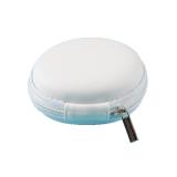 Harga Supercart Berkualitas Baik Round Earphone Storage Case Putih Asli