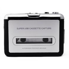 Harga Hemat Supercart Baru Tape Untuk Pc Usb Super Kaset Untuk Mp3 Converter Capture Audio Music Player Hitam Abu Abu