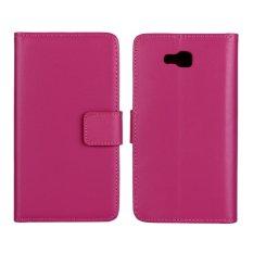 Supervalue Kasus Dompet Kulit Asli Kulit Cover untuk LG Optimus L9 II (Rose)-Intl