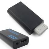 Jual Beli Dukungan 720 P 1080 P Asli Untuk Wii Untuk Hdmi Konverter Adaptor 3 5Mm Audio Untuk Hdtv Wii2Hdmi Hitam Intl Baru Tiongkok