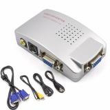 Kualitas Mendukung Ntsc Pal Vga Ke Tv Av Rca Signal Portable Adapter Converter Video Switch Kotak Hitam Intl Oem