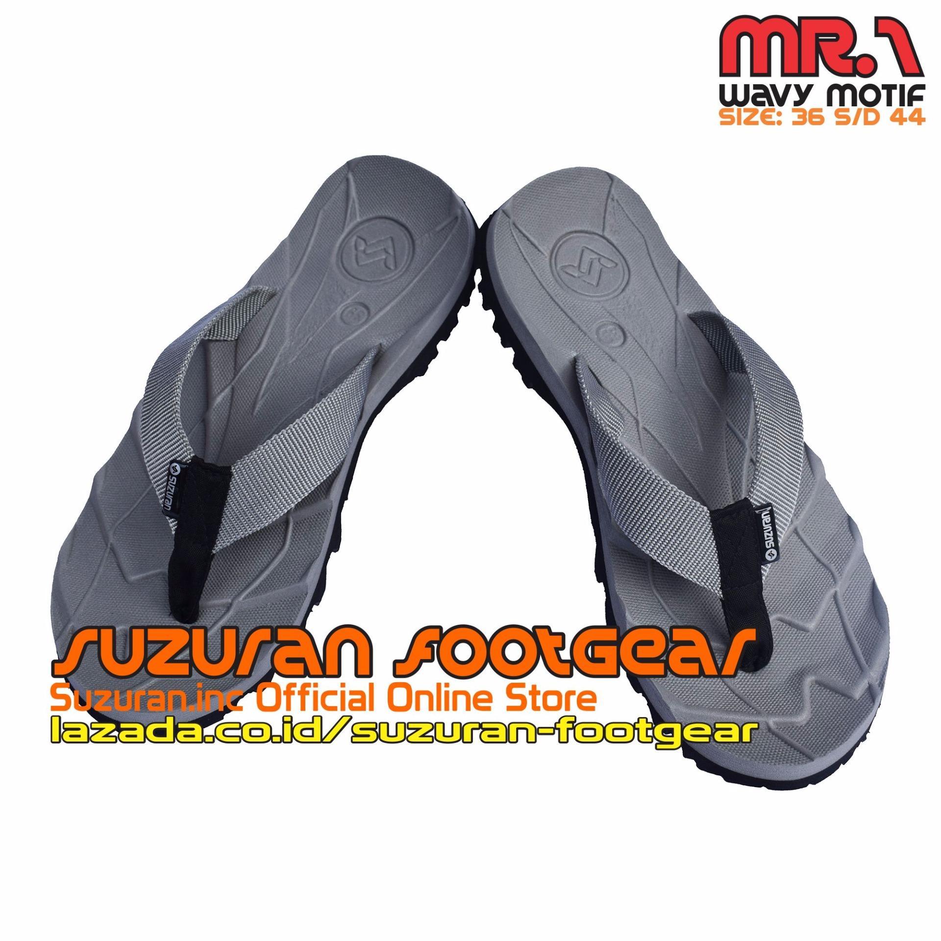 Spesifikasi Suzuran Sandal Gunung Flip Flop Mr1 Grey Lengkap