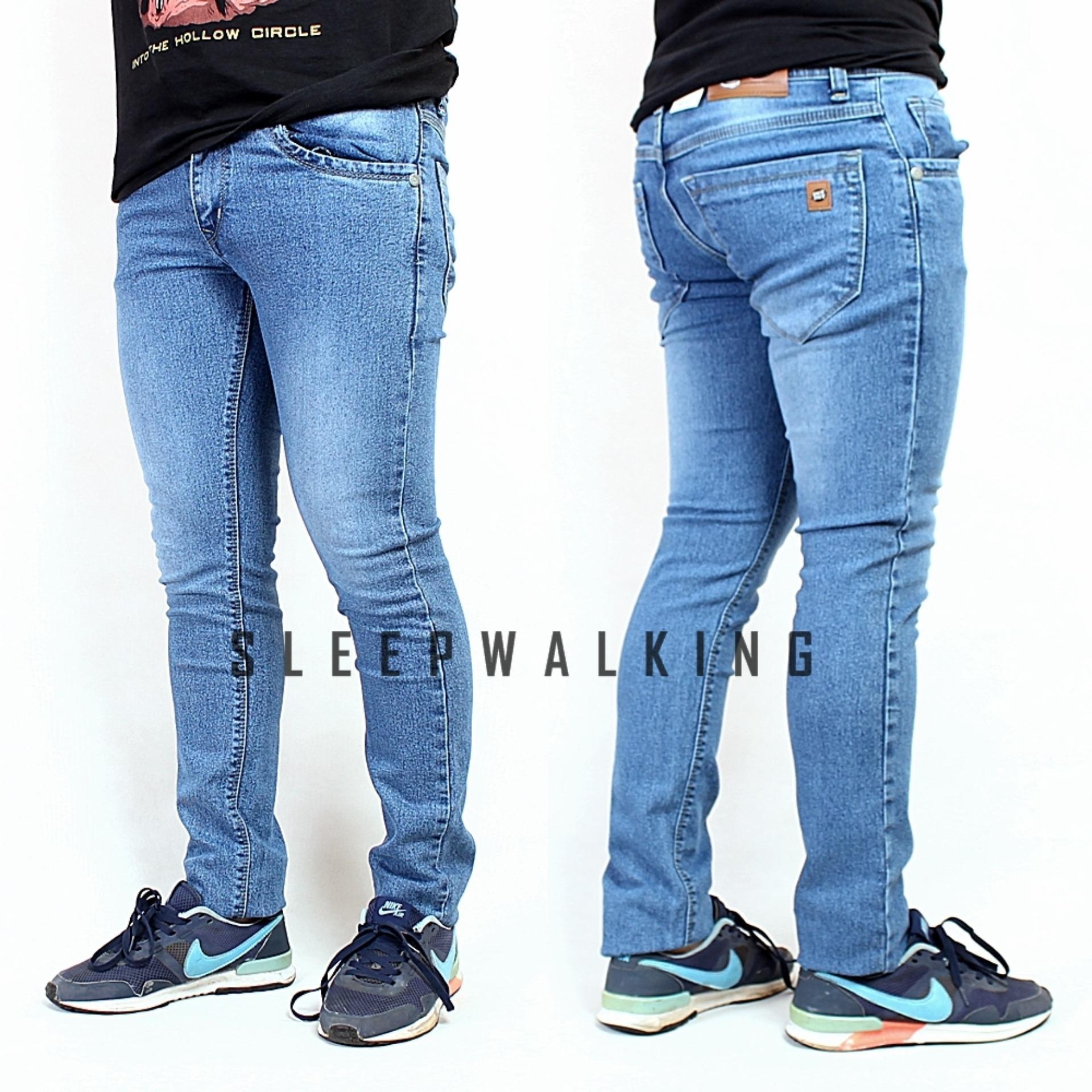 Beli Sw Celana Jeans Pria Slimfit Bioblitz Di Jawa Barat