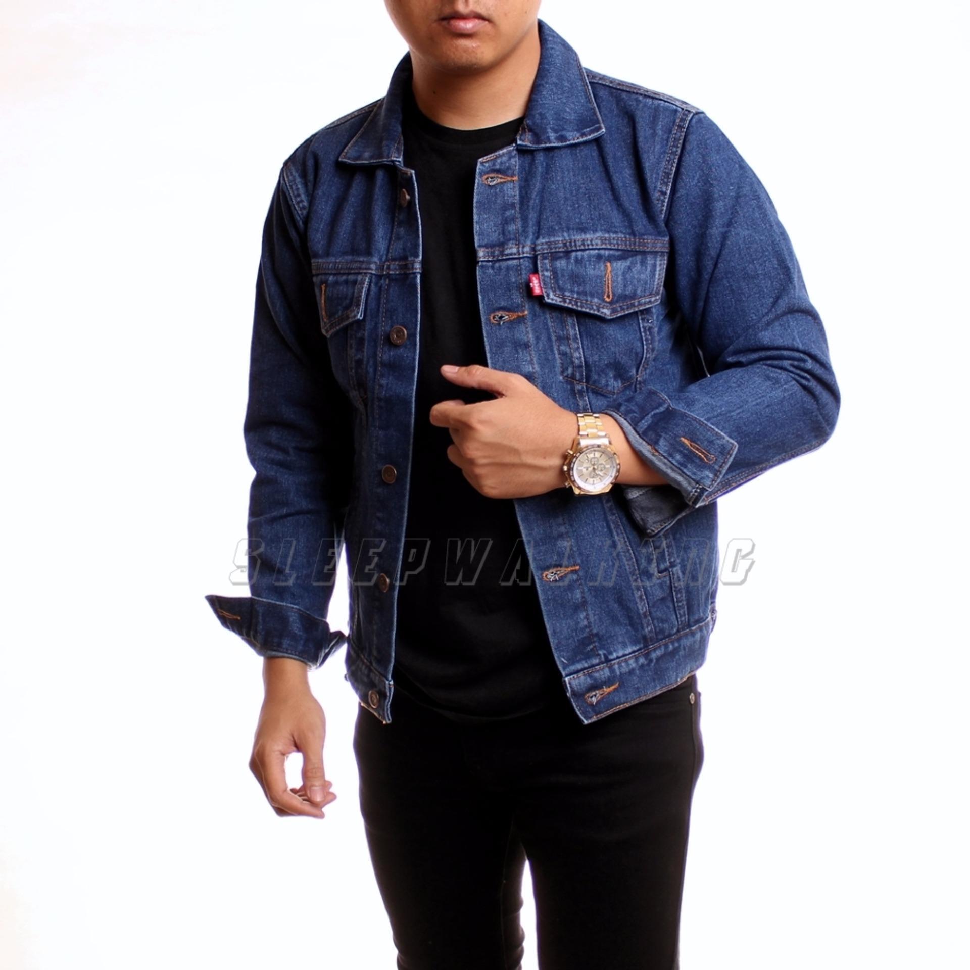 Daftar Harga Sw Jaket Jeans Pria Biowash Sleepwalking