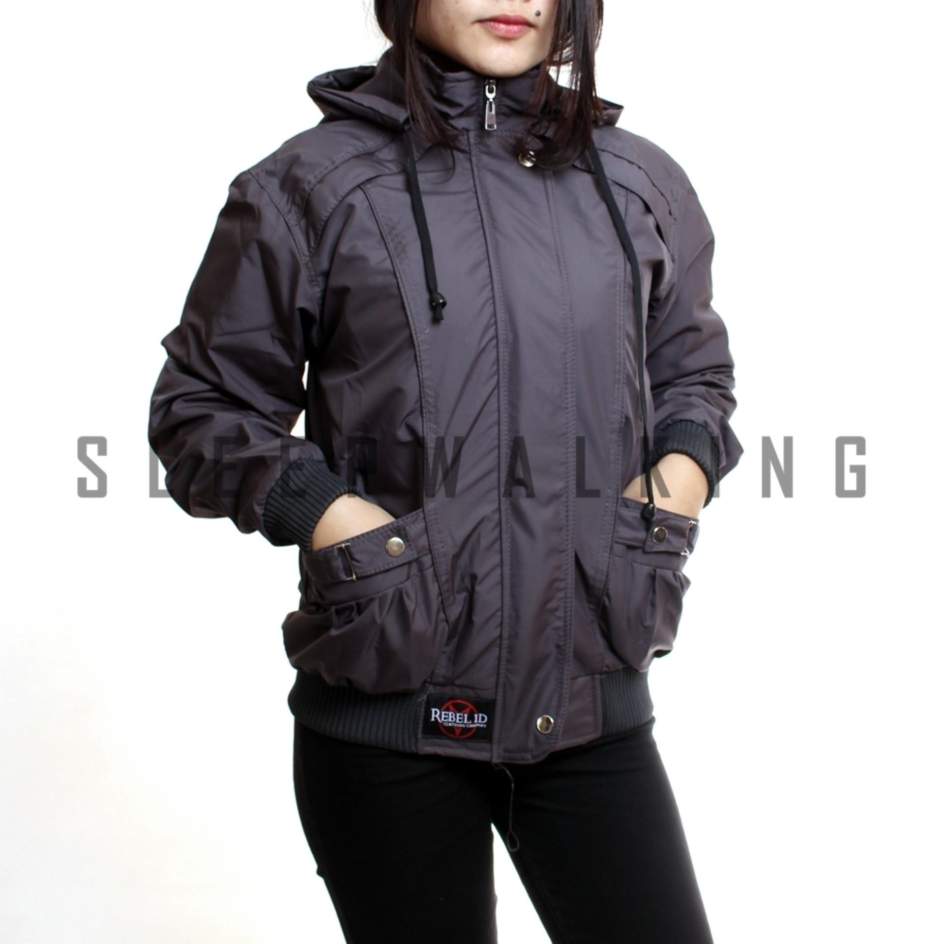 SW JAKET CASUAL WANITA PARASUT WATERPROOF BEST SELLER