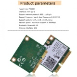 Sweatbuy Mini Intel 7260Hmw 7260An Pci E 300 M Bluetooth 4 Dual Band Wifi Nirkabel Kartu Oem Diskon 40