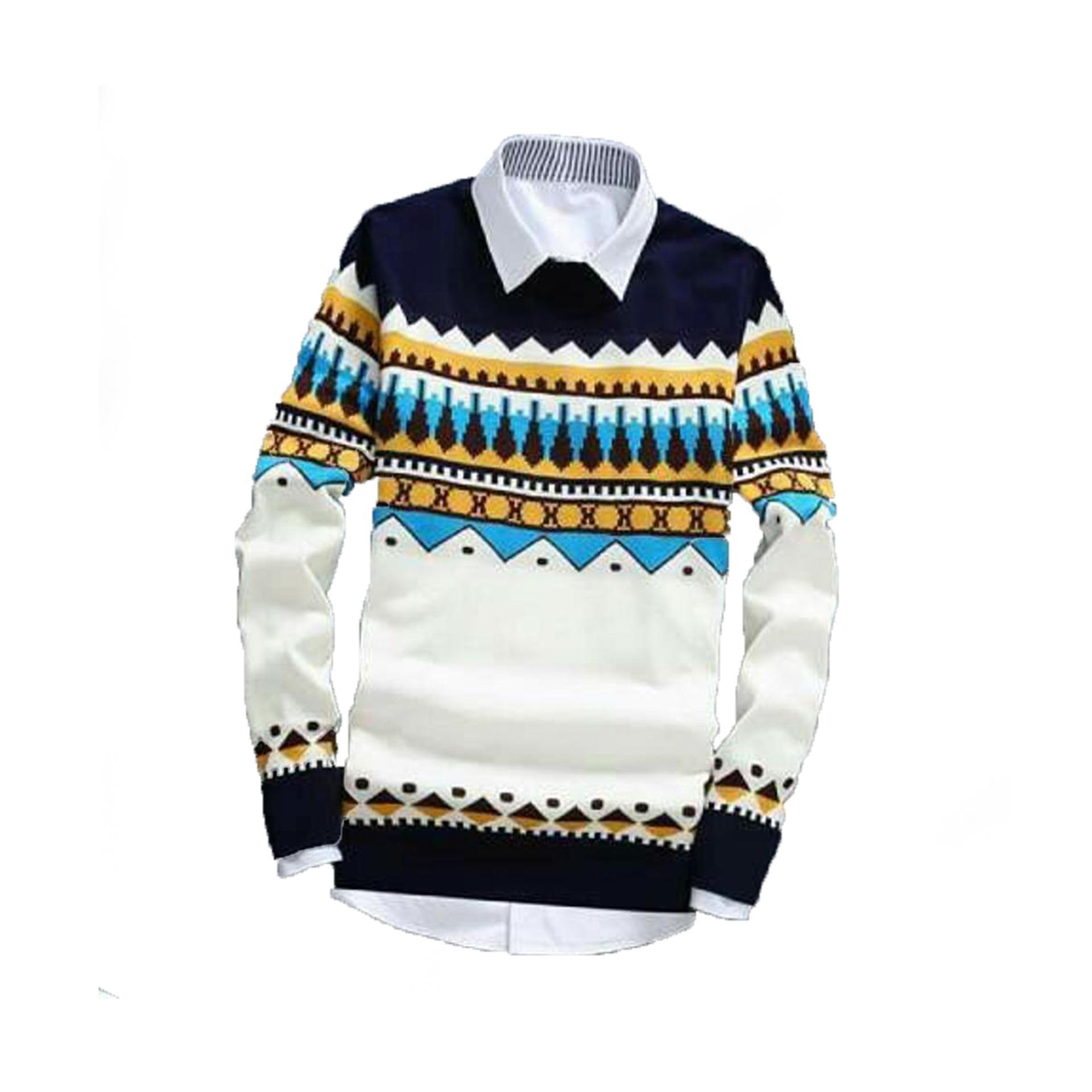Dapatkan Segera Sweater Rajut Tribal Naza