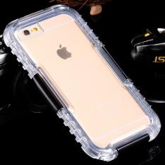 Renang Tahan Air Tertutup Tahan Lama Case untuk Apple IPhone 6/6 S Plus 5.5 Inch Tahan Guncangan Ponsel Case (iPhone 6/6 S Plus Hitam) -Intl