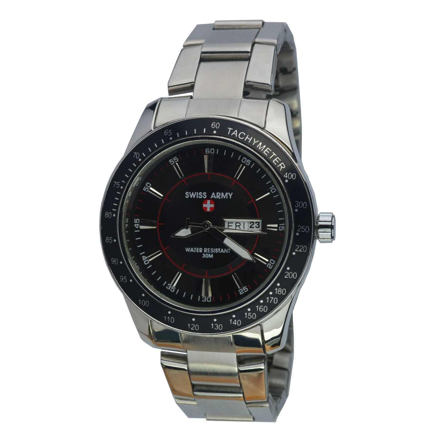 Dimana Beli Swiss Army Jam Tangan Pria Body Silver Black Dial Stainless Steel Band Sa Rt Tgl Hr P 5017 B Hitam Swiss Army