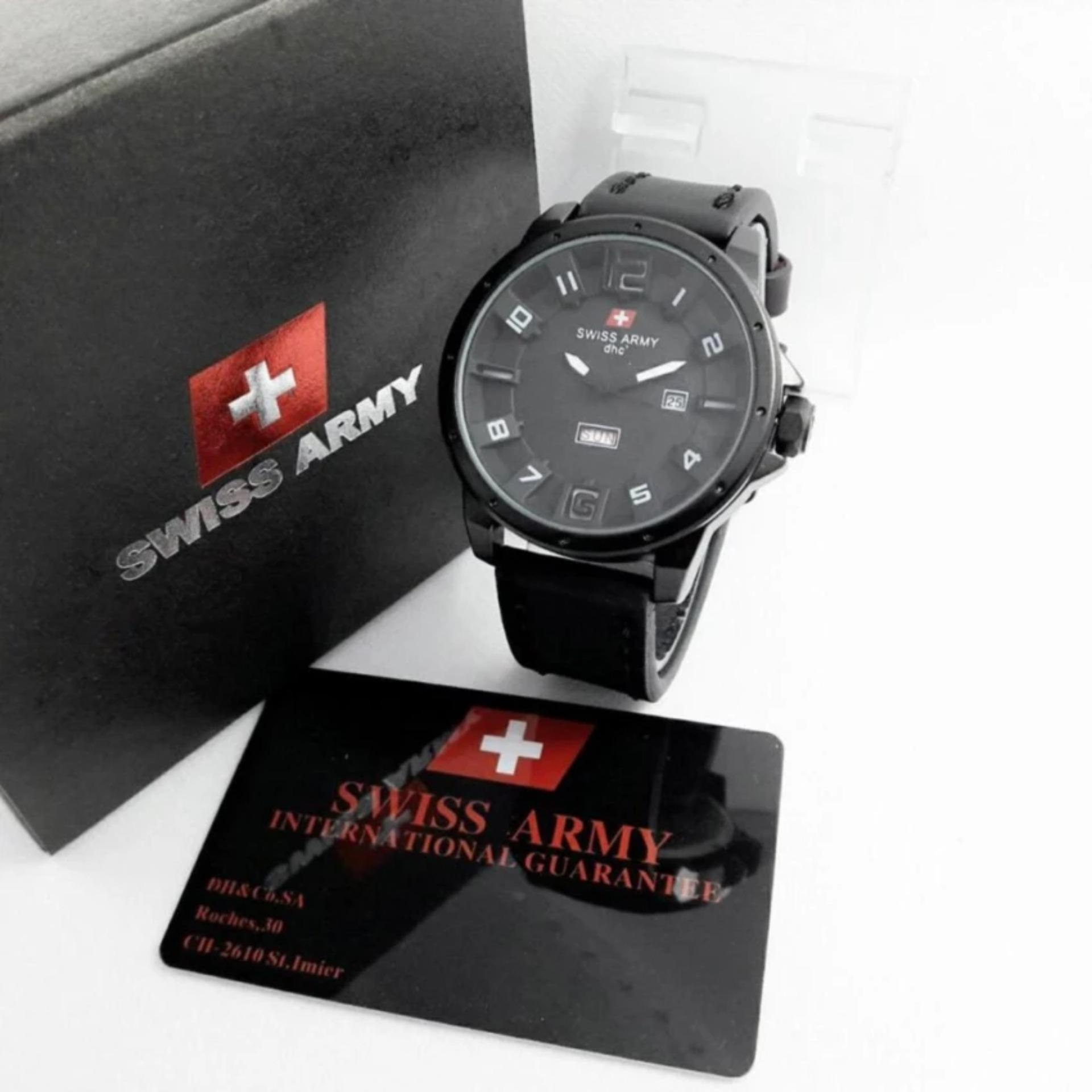Swiss Army Infantry Full Set Jam Tangan Pria Sa7070 Jj Daftar Oddskull Lbs Brown Stainless Steel