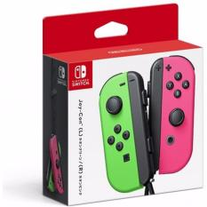 Switch Joy Con Controller Neon Green / Neon Pink