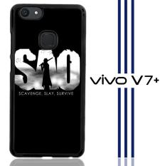 Sword Art Online Anime Japan  Z0359 Casing Vivo V7 Plus Custom Hard Case