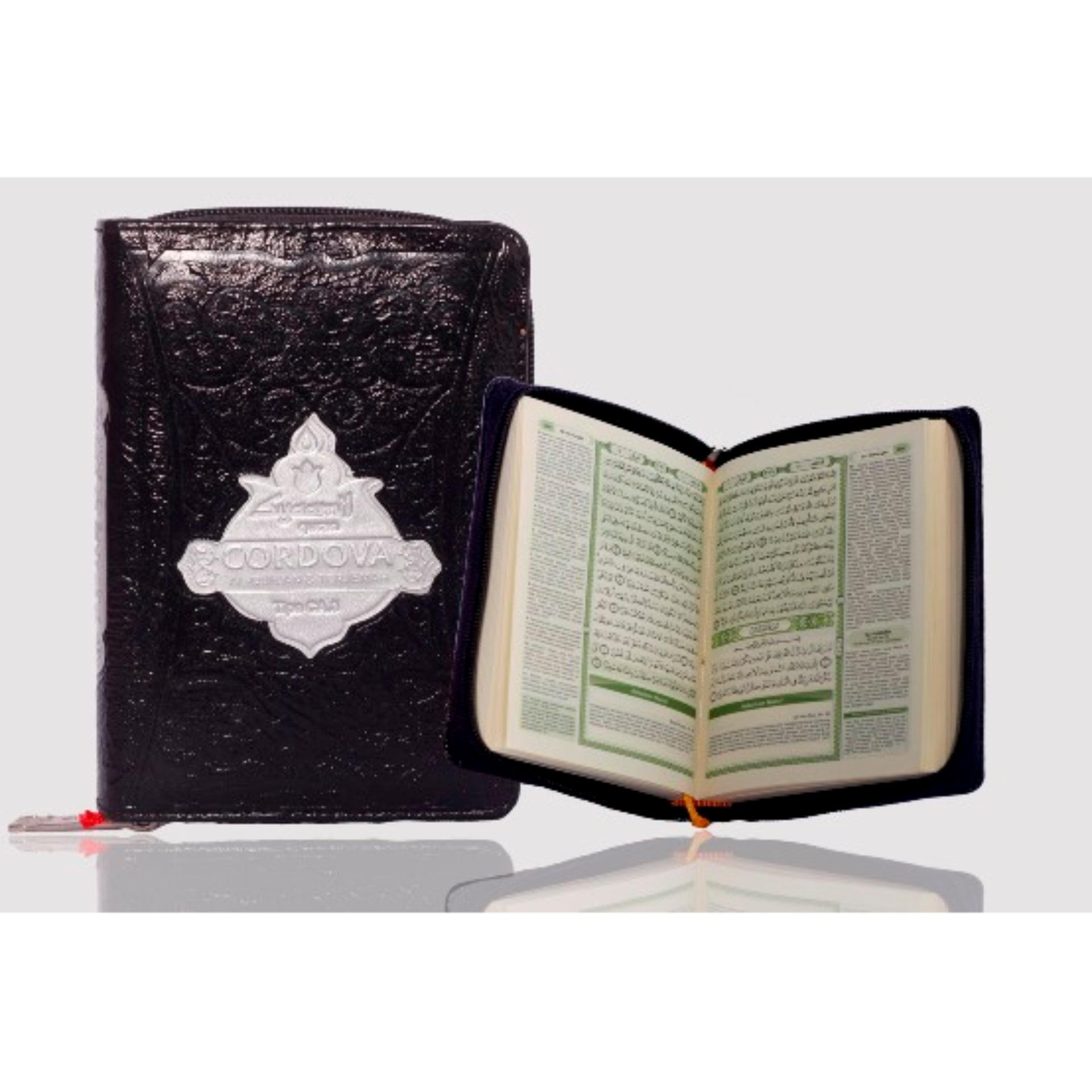 Spesifikasi Syaamil Al Quran Terjemah Syaamil Cordova Resleting A6 Baru