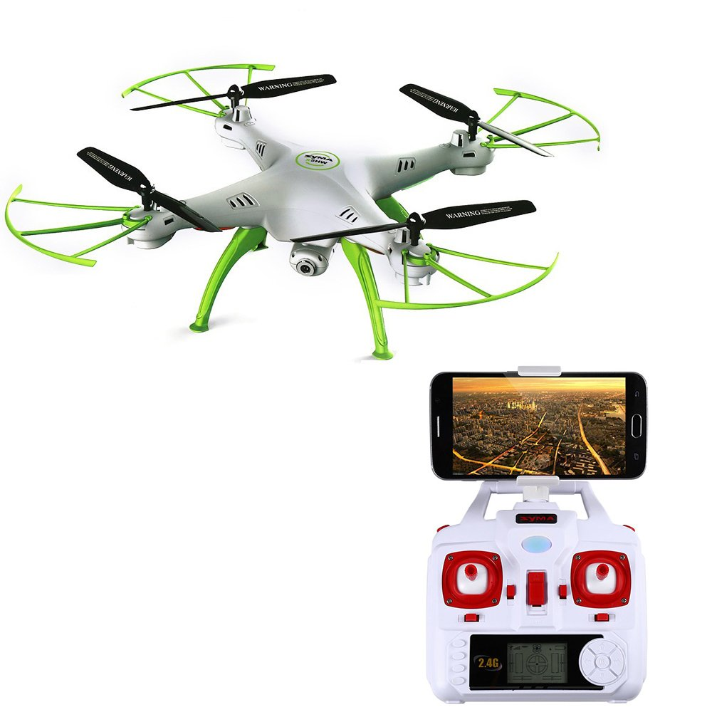 Top 10 Syma Drone X5Hw Wifi Fpv Kamera Hd 2 Mp Altitude Hold Putih Online