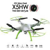 Harga Syma Drone X5Hw White Hold Wifi Live View Hd 2Mp Origin
