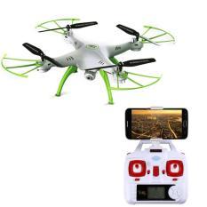 Jual Beli Online Syma Drone X5Hw Wifi Fpv Kamera Hd 2 Mp Altitude Hold Putih
