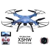 Dapatkan Segera Syma X5Hw I Wifi Fpv Drone With Hd Camera Live Video Altitude Hold Function 2 4Ghz 4Ch Rc Quadcopter Blue
