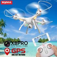 SYMA X8 PRO GPS Drone dengan kamera Wifi HD FPV2.4G 4CH Profesional Quadcopter