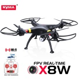 Harga Syma X8W Fpv Rc Quadcopter Drone With Wifi Camera 2 4G 6 Axis Support Action Cam Gopro Yi Cam Branded