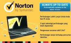 Promo Symantec Norton 360 1 Tahun 3Pcs Keycard Symantec