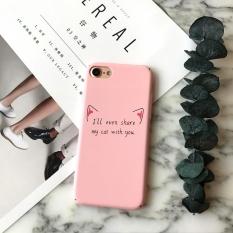 SZYHOME Ponsel Case untuk Apple IPhone 8 dengan Plastik Berkualitas Tinggi PC Ultra-tipis Hard Shell Lovely Kartun Covers XC-Intl