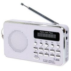 Beli T 205 Portable Hifi Card Speaker Multimedia Digital Loudspeaker Fm Radio Putih Intl Pakai Kartu Kredit
