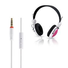 T-420 Mic Control Wired Stereo HiFi Music Computer Headset PK - intl