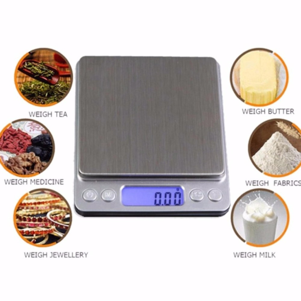 Harga T Scale Silver Timbangan Digital Kue Dan Laboratorium 500 01 Gram Digital Pocket Scale Silver Baru Murah