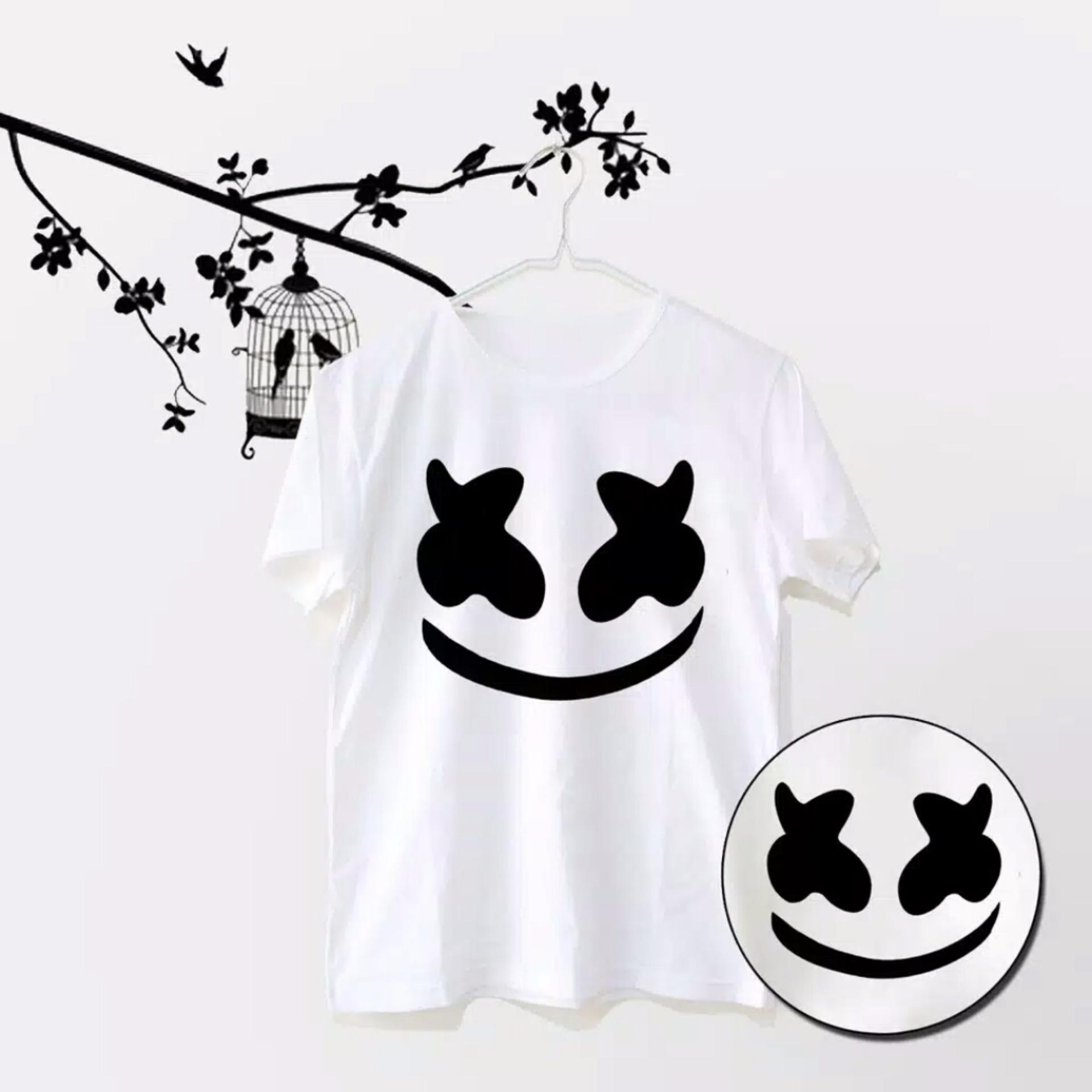 Harga T Shirt Tumblr Kaos Dj Marshmello Tshirt Marshmello Cewek Cowok Marshmallow Origin
