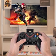 Review Toko T3 Bluetooth Wireless Game Controller Gamepad Joystick For Ios Android Cellphone Tablet Tv Box