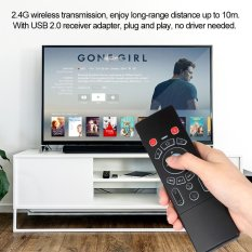 T6 2.4 GHz 6-Axis Fly Air Mouse Wireless Keyboard W/Touchpad Colorful Backlight Handheld Remote Control IR Belajar untuk Smart TV Android TV BOX Laptop PC-Intl