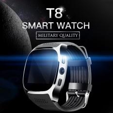 Top 10 T8 Smart Watch Phone 1 54 Inch Ips Gsm Bluetooth V3 Watch With Pedometer Camera Mtk6261D Sleep Monitor Fm Radio Wristwatch Intl Online