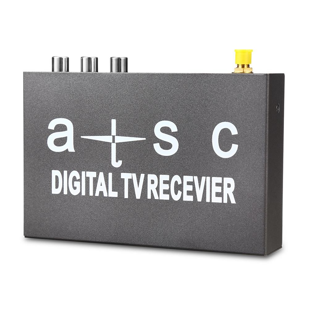 T858 Car HD / SD ATSC Mobile Digital TV Box Receiver(Personal Video Recorder) - intl