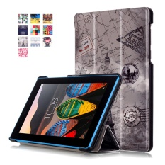 Tab 3 7 Essential Case,Stand Folio Leather Smart Cover for Lenovo 7.0