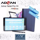 Jual Advan Tablet I10 4G Lte Ram 2Gb 10Inc Free Sarung Dan Stylus Pen Branded Original