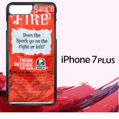 Taco Bell Sauce Fire GN2401 Custom Casing Iphone 7 Case Cover