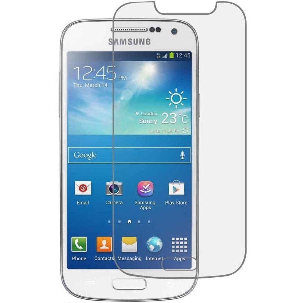 Vn Samsung Galaxy Core 1 / + Plus / 4G LTE / Duos / I8260 / I8262 Tempered Glass 9H Screen Protector 0.32mm - Transparan