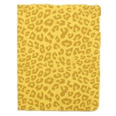 Taff Leather Case Tiger Pattern for iPad Mini - IPM022 - Kuning