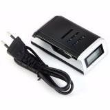 Harga Taffware Charger Baterai Smart Intelligent Lcd 4 Slot C905W S1661 Black Asli Taffware