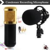Taffware Mikrofon Kondenser Studio Dengan Shock Proof Mount Bm800 Original