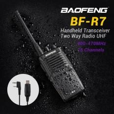 Diskon Besartaffware Walkie Talkie Single Band 3W 16Ch Uhf Bf R7 Black