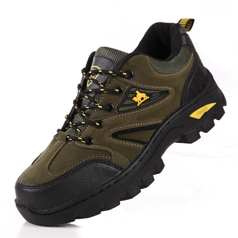 Toko Tahan Slip Tahan Air Non Slip Sepatu Sepatu Hiking Tentara Hijau Lengkap Tiongkok
