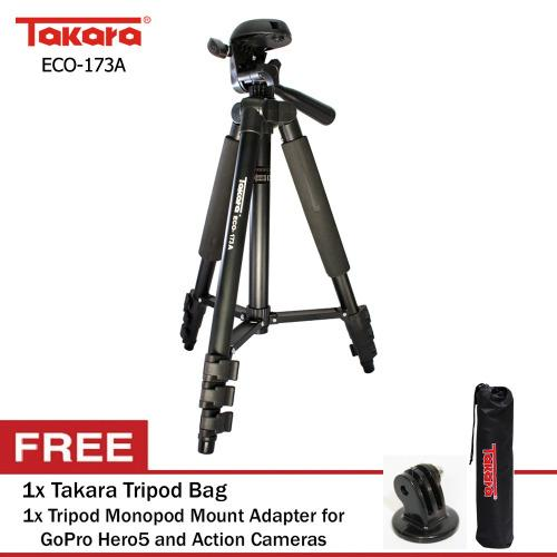 Beli Takara Eco 173A Mount Adapter Tripod Bag Seken